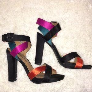 Nicole Miller block heel
